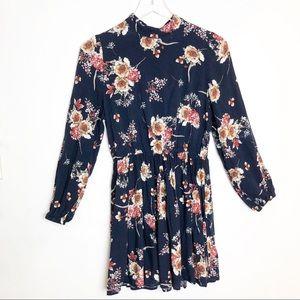 3/$25 Shein | Floral Pattern Mini Dress